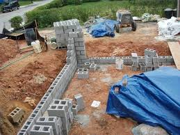 how to build a concrete block house how to build a cinder block house hunker