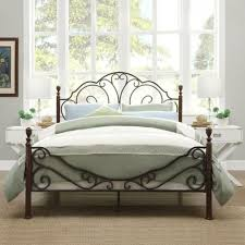 beds amazing iron bed frames queen surprising iron bed frames