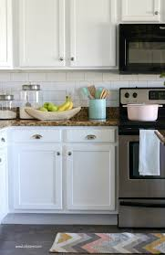 backsplash wallpaper for kitchen faux subway tile backsplash wallpaper