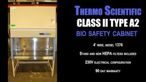 thermo fisher biosafety cabinet thermo scientific 1376 bio safety cabinet 0870y bio cab youtube