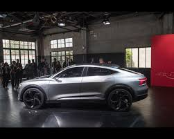 audi e tron sportback electric concept announced for production in