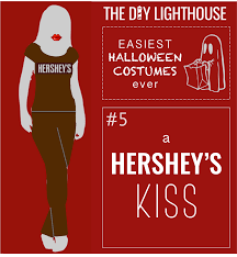 halloween hershey kisses ideas for cheap quick unique u0026 easy halloween costumes