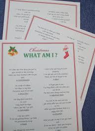 christmas party game fun xmas entertainment idea quiz