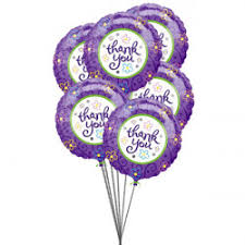balloon delivery michigan send thank you balloons online thanks balloons