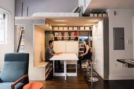 the designer shoebox studio apartments that use every inch wsj