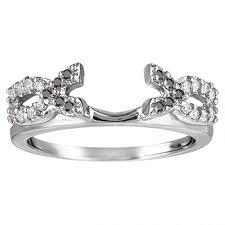 Wedding Ring Enhancers by Wedding Rings Ring Enhancer For Princess Cut Walmart Ring