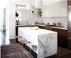 kitchen island counter waterfall kitchen island inspiration