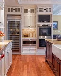 Kitchen Cabinet Refrigerator Houzz Kitchen Cabinets Kitchen Traditional With Cabinet Front
