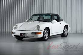 porsche 964 targa 1992 porsche 964 carrera 2 targa carrera stock 1992132 for sale