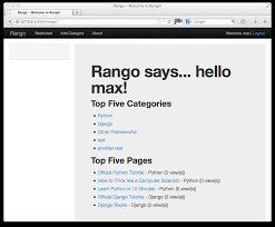 bootstrap tutorial epub 11 bootstrapping rango how to tango with django