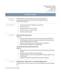 Security Guard Job Resume by Security Duties Resume New Security Guard Job Duties For Resume