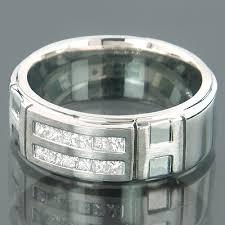 mens comfort fit wedding bands 14k gold mens comfort fit diamond wedding band 1 33ct