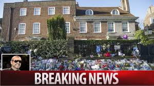 george michael home year old george michael tributes spark problems in london