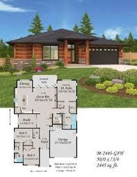 contemporary adobe style house plan adobe open concept and car