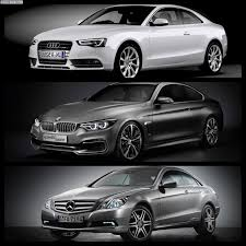mercedes bmw or audi bmw series 4 coupe vs audi a5 vs mercedes c class coupe