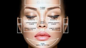 Face Acne Map What Your Face Tells You About Your Health
