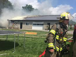 The Barn Wooster Ohio Barn Fire Near Holmesville Fredericksburg News The Daily