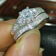 diamonique wedding rings diamonique wedding rings image collections jewelry design exles