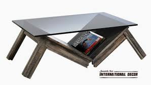 furniture astounding unusual coffee tables with book storage and
