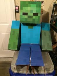 Minecraft Costume Halloween Minecraft Zombie Costume Halloween Costumes