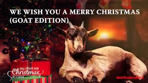 All I Want For Christmas Is You Meme - we wish you a merry christmas goat edition youtube