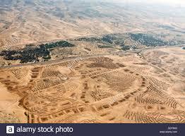 negev desert map aerial photography of the negev desert landscape stock