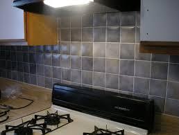 How To Painting Tile Backsplash - Painted tile backsplash