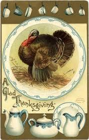 vintage thanksgiving clip free vintage printable