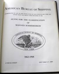 bureau of shipping bureau of shipping guide for the classification of manned