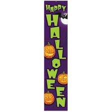 vertical happy halloween banner 1 5m peeks