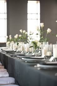 White Roses Centerpieces by White Rose Centerpiece Elizabeth Anne Designs The Wedding Blog