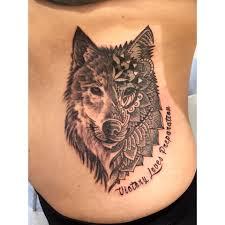 mandala tattoo on shoulder 52 mandala wolf tattoos ideas