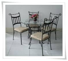 wrought iron dining room table wrought iron kitchen table ipbworks com