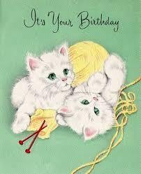 213 best intage birthday cards images on pinterest vintage
