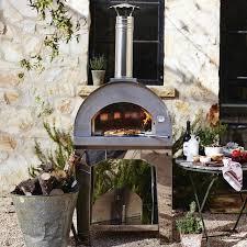 forno toscano margherita outdoor pizza oven williams sonoma
