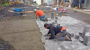 Cost To Install Paver Patio by Paver Patio Extension In Boston Harbor Ajb Landscaping U0026 Fence