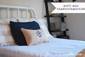 Burlap Bed Skirt How To Diy An Easy Burlap Bedskirt No Sew And Boys Room Vintage