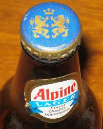 vintage alpine export 5 1 2 inch canadian moosehead breweries