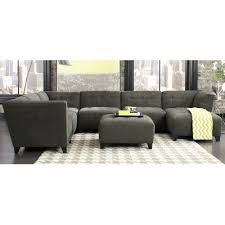 rc willey sofa granite gray classic modern 6 piece sectional blaire rc willey