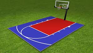 Backyard Basketball Court How Much Does An Outdoor Basketball Court Cost