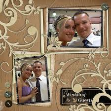 Wedding Scrapbook Page The 25 Best Wedding Scrapbook Layouts Ideas On Pinterest