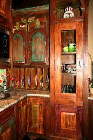 Mexican Kitchen Cabinets Santa Fe Door Style Color Finish Toffee A Little Style To Your