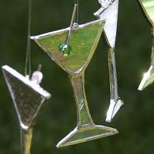 martini glass ornaments rainforest islands ferry