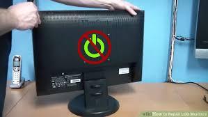 3 ways repair lcd monitors wikihow