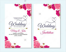 download wedding cards ornamental wedding invitation card vector