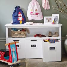 Kids Room Storage Bins by Easy Reach Toy Storage Unit With Play Area Storage Solution And