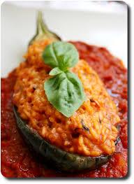 cuisine sicilienne barquettes de melanzane aubergines au risotto à la sicilienne
