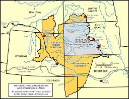 India Time Zone Map by Section 3 The Treaties Of Fort Laramie 1851 U0026 1868 North