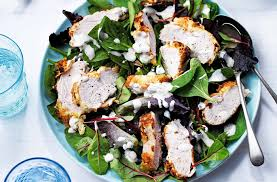 southern fried chicken salad tesco real food