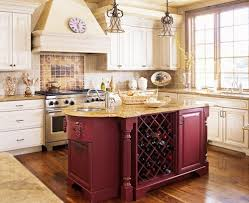 the kitchen island offers numerous practical storage options hum